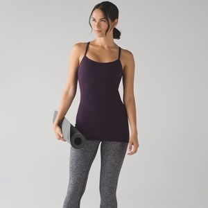 lululemon Power Y Tank • Black Cherry • 6